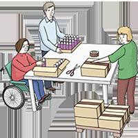 arbeit gemeindediakonie mannheim leichte. Black Bedroom Furniture Sets. Home Design Ideas